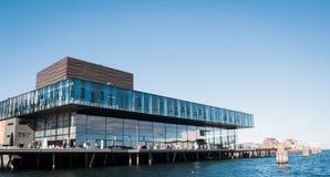 皇家丹麦剧场 免版税库存照片
