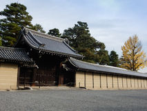 皇家京都宫殿 免版税库存照片
