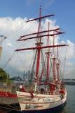 皇家信天翁特殊性巡航在圣淘沙,新加坡停放 免版税库存照片