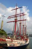皇家信天翁特殊性巡航在圣淘沙,新加坡停放 库存图片