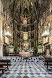 皇家修道院教会在瓜达卢佩河 免版税图库摄影