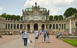 皇家内阁数学和Phyiscal仪器,德累斯顿 库存照片