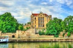 皇家别墅,一个历史建筑在雷根斯堡,德国 库存图片