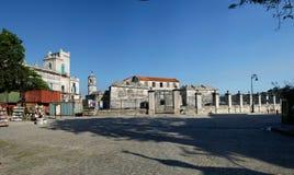 皇家力量的城堡,哈瓦那,古巴 免版税库存图片