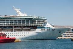 皇家加勒比船 图库摄影