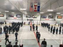 皇家加拿大空气军校学生 库存照片