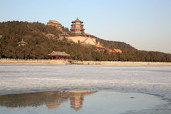 皇家北京的庭院 图库摄影