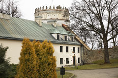 皇家卡齐米城堡在Przemysl 波兰 库存照片