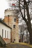 皇家卡齐米城堡在Przemysl 波兰 免版税图库摄影