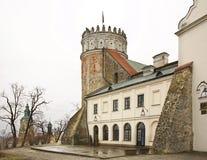 皇家卡齐米城堡在Przemysl 波兰 图库摄影