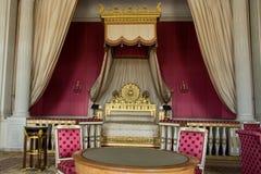 皇家卧室 免版税库存图片