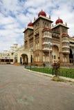 皇家印度迈索尔的宫殿 库存照片
