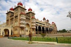 皇家印度迈索尔的宫殿 免版税库存照片