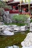 皇家古老中国的庭院 免版税库存图片