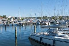 皇家哥特人游艇俱乐部Langedrag瑞典 免版税库存照片