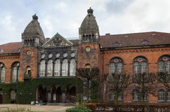 皇家图书馆,哥本哈根 免版税库存图片
