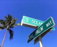 皇家在西棕榈海滩签到皇家区域 图库摄影