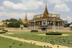 皇家地方金边柬埔寨 图库摄影