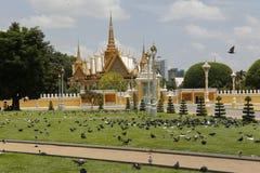 皇家地方金边柬埔寨 库存照片