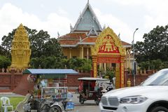 皇家地方金边柬埔寨 库存图片