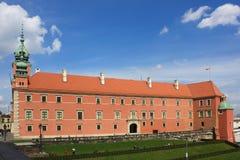 皇家城堡在华沙,波兰- 17 04 2016年 免版税图库摄影