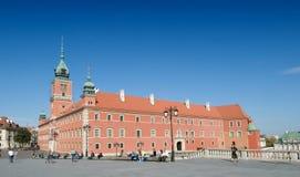 皇家城堡在华沙 免版税图库摄影
