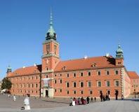 皇家城堡在华沙 库存图片