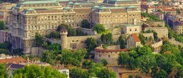 皇家城堡或宫殿的围场 库存图片