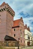 皇家城堡的塔 免版税库存图片
