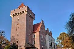 皇家城堡的塔 免版税库存照片