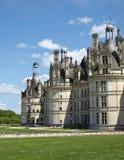 皇家城堡的chambord 库存图片