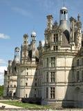 皇家城堡的chambord 库存照片