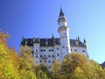 皇家城堡的neuschwanstein 免版税库存图片