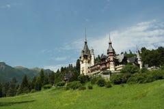 皇家城堡的peles 免版税库存照片