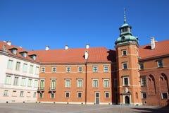 皇家城堡,华沙 免版税图库摄影