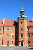 皇家城堡,华沙 免版税库存图片