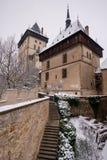 皇家城堡Karlstejn,捷克 库存图片