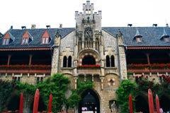 皇家城堡Marienburg在下萨克森州,德国 免版税库存照片