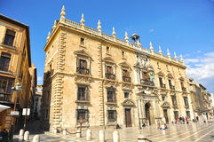 皇家大臣官邸在格拉纳达,西班牙 免版税库存照片