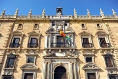 皇家大臣官邸在格拉纳达,西班牙 库存图片