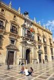 皇家大臣官邸在格拉纳达,西班牙 库存照片