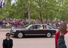 皇家婚礼 免版税库存图片