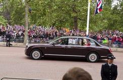 皇家婚礼 库存照片