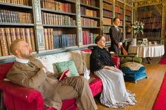皇家客厅场面 免版税库存照片