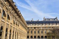 皇家宫殿在巴黎 免版税图库摄影