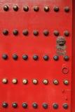 皇家宫殿的门在中国 免版税库存照片