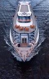 皇家小舰队拉迪森的船  莫斯科河巡航 库存照片