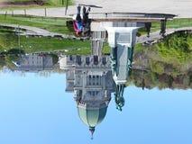 皇家山蒙特利尔魁北克加拿大圣若瑟讲说术  免版税图库摄影