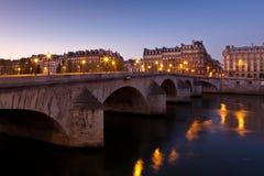 皇家巴黎的pont 免版税库存照片