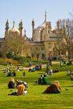 皇家布赖顿的pavillion 免版税库存照片